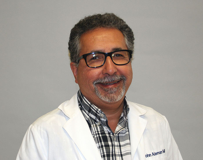 John C. Aleman, MD, Family Medical Doctor