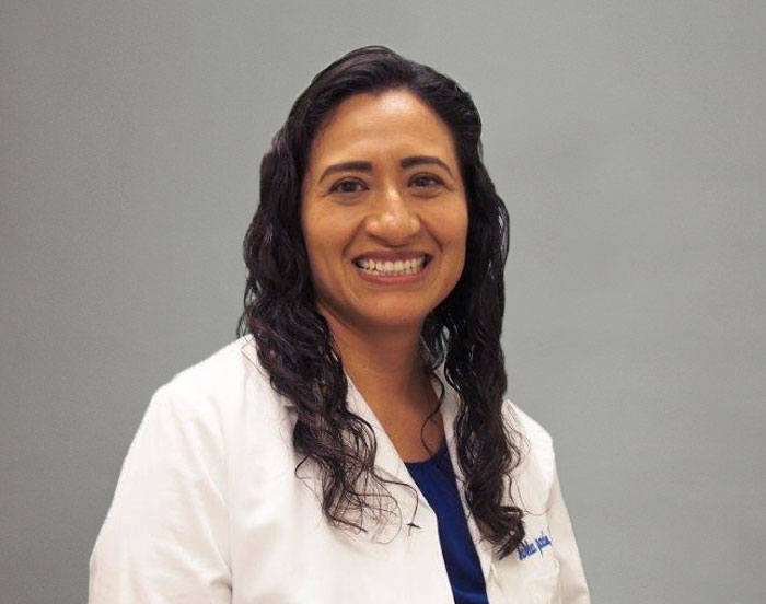 Maricela Salgado, OD, Director of Optometry, and Optometrist