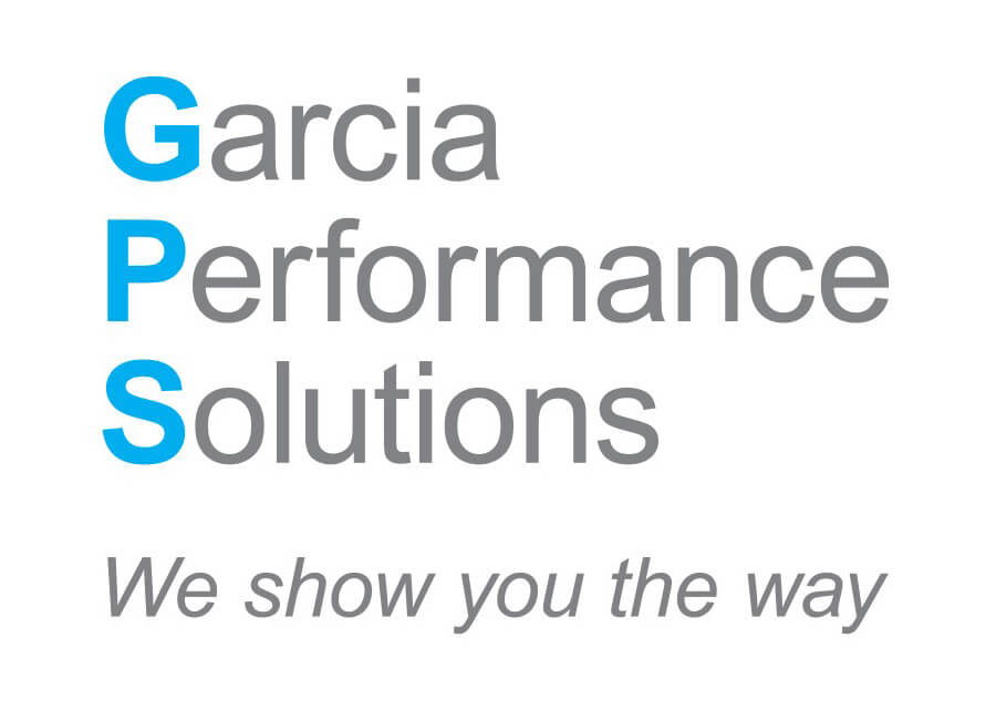 Logo link to Garcia Performance Solutions website. Logo tagline: We show you the way.