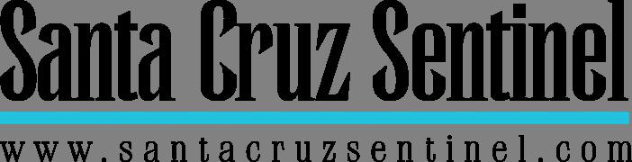 Logo link to Santa Cruz Sentinel website. Logo footer: www.santacruzsentinel.com