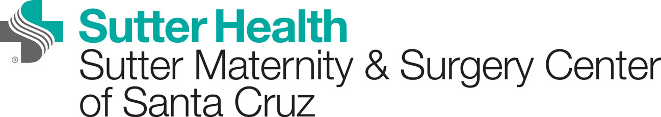 Logo link to Sutter Health, Sutter Maternity & Surgery Center of Santa Cruz website.