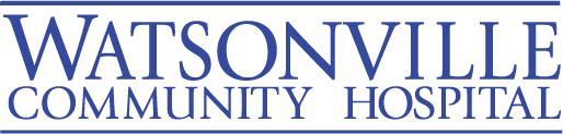 Logo link to Watsonville Community Hospital website.